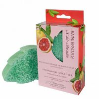 Le Cafe de Beaute Leaf shaped foaming sponge Anti-Cellulite