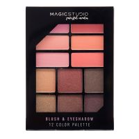 Magic Studio Blush&Eyeshadow 12 color palette