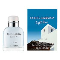 Dolce&Gabbana Light Blue Living Stromboli EdT 40 ml, parfüüm, mehed, lõhnad