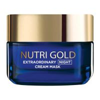 Loreal Nutri Gold Night Cream Mask 50ml