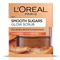 Loreal Smooth Sugars Glow Scrub 50ml
