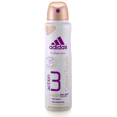 Adidas, Action 3 Cotton Touch Anti-Perspirant Body Spray, deo spray naistele