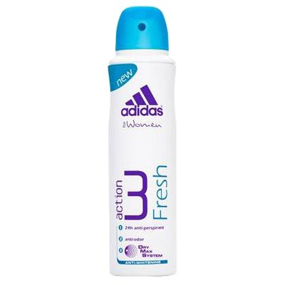 Adidas, Action 3 Fresh Anti-Perspirant, parfüümid, deodorandid, lõhn, spray