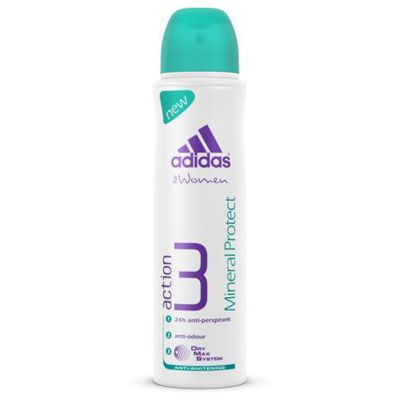 Adidas, Action 3 Mineral Protect Anti-Perspirant Body Spray, deo spray naistele