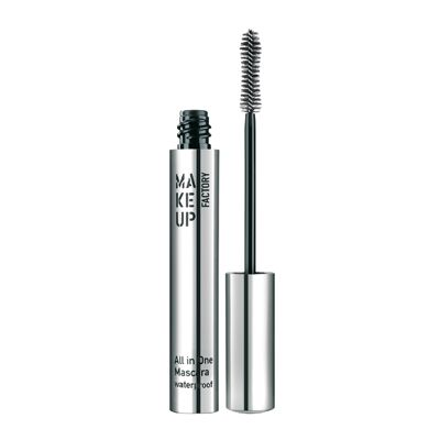Make Up Factory All in One Waterproof Mascara 01 Black