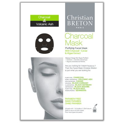 Christian Breton Charcoal Mask 1pcs