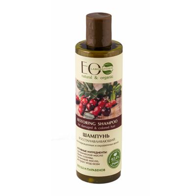 Eco Laboratorie Restoring shampoo for damaged&colored hair 250 ml