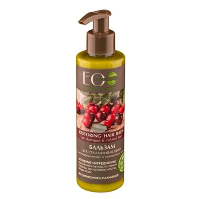 Eco Laboratorie Restoring hair balm for damaged&colored hair 200 ml