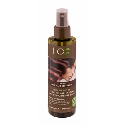 Eco Laboratorie Styling and hair restoring heat protective 200 ml