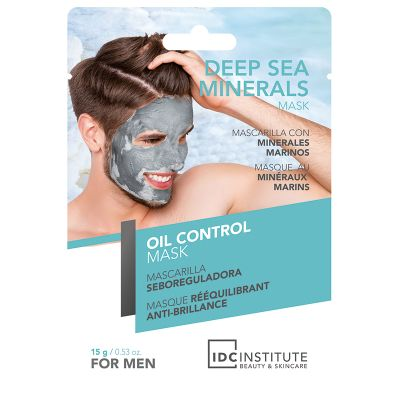 IDC Cosmetics Deep Sea minerals mask Oli control for Men  1 pcs