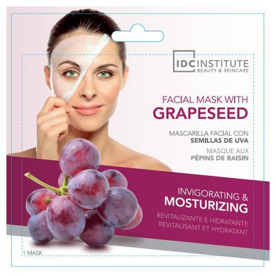 IDC Institute Facial Mask with grapeseed monodose