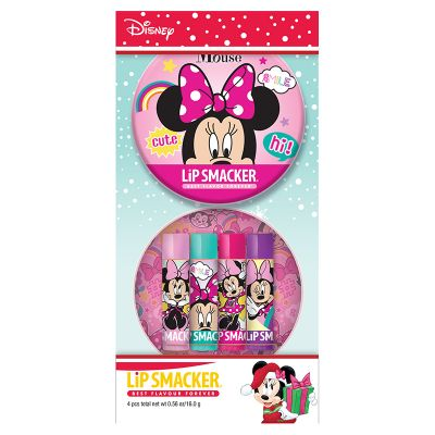 Lip Smacker Holiday Minnie Mouse tin