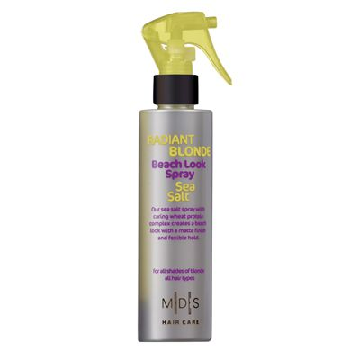 Beach look spray with sea salt, 200 ml for blonde hair