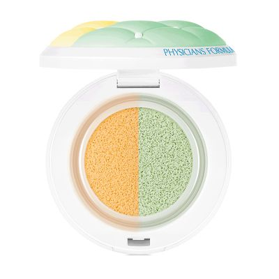 Physicians Formula Mineral Wear Talc-free Cushion Corrector + Primer duo SPF 20