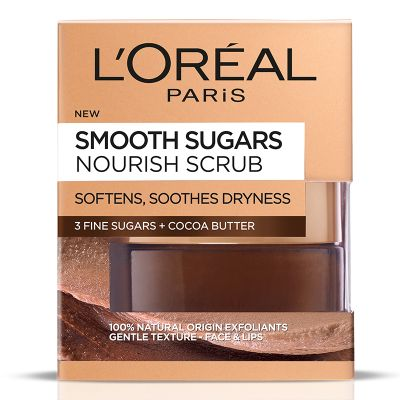 Loreal Smooth Sugars Nourish Scrub 50ml